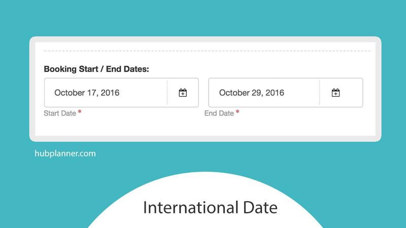 Date Format Update Hub Planner