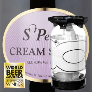 St. Peter's Cream Stout 6.5% 30L KeyKeg
