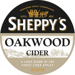 Sheppy's OAKWOOD Medium Cider 4.8% 20l PolyKEG