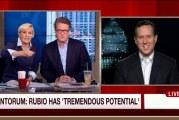 NJ Governor Chris Christie attacks Marco Rubio with an Endorsement of Rick Santorum