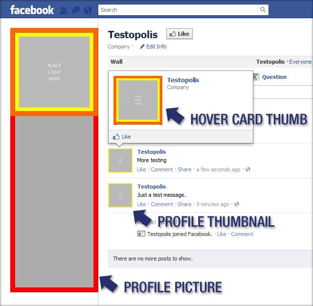 Huebris » Free Facebook Profile Picture Template