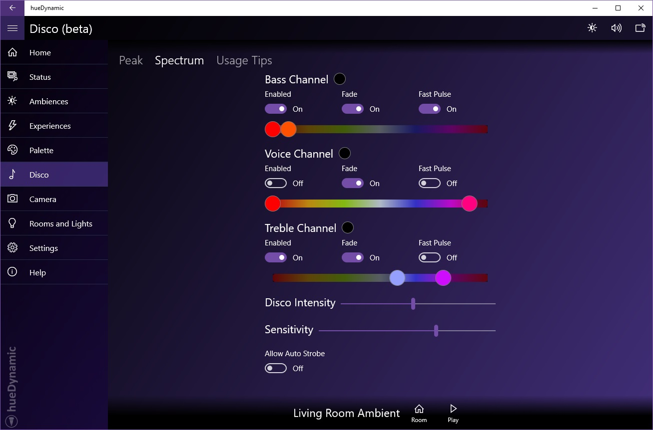 Hue Philips App The Ultimate Hue Lights App Huedynamic For Philips Hue