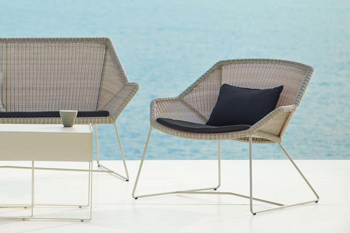 Lounge Sessel Cane Line Loungesessel Breeze