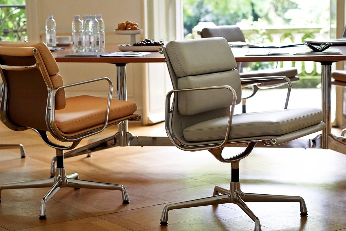 Eames Design Stuhl Vitra Soft Pad Chair | Konferenzsessel