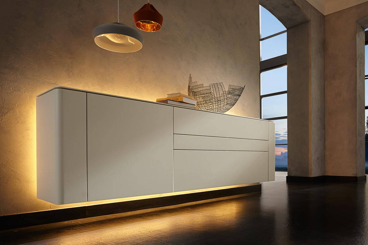 Sideboard Beige Gentis - Sideboard | Hülsta - Designmöbel Made In Germany.