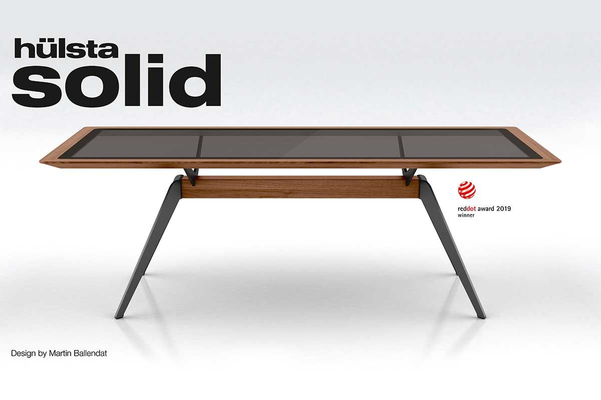 Tv Lowboard Dot Hülsta Solid Receives Red Dot Award Cross Leg Table Convinces