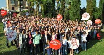 Agentes electorales del PSOE.