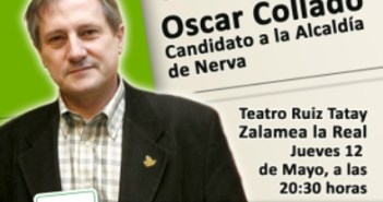 Cartel acto Willy Meyer mayo 2011