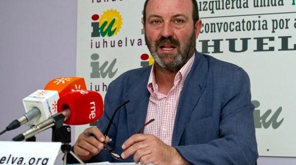 Pedro Jiménez, coordinador provincial de IU. (Julián Pérez)