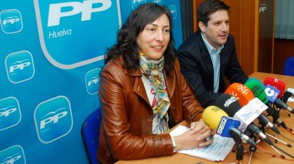 Loles López, candidata del PP en Valverde del Camino.