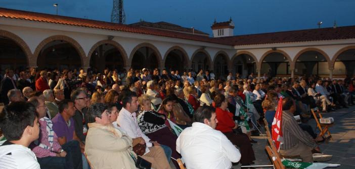 Mitin del PSOE en Ayamonte.