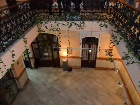 Sala interior del IAJ en Huelva.