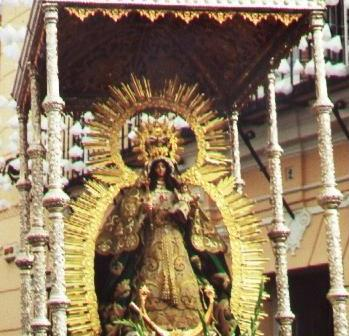 Virgen de Montemayor.
