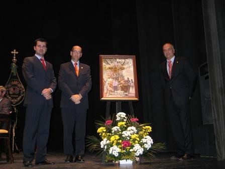 Presentación del cartel del Rocío en Moguer.