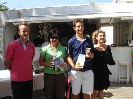 Los ganadores de la prueba.