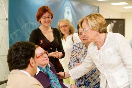 Inauguración de las jornadas mujer y discapacidad