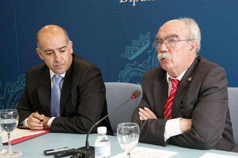 Miguel Novoa y Juan Antonio Millán Jaldón.