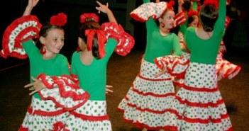 Gala de la academia de baile de Cartaya.