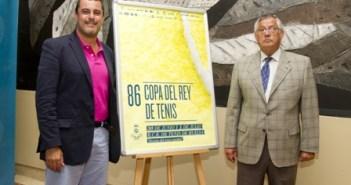 Presentación ayuda de la Diputación a la Copa del Rey de Tenis.