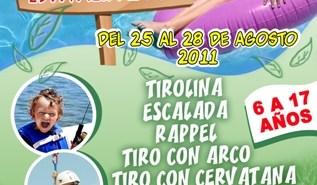 Cartel del campamento de verano Estivalia 2011