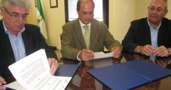 Firma del acuerdo Atlantic Copper y FOE.