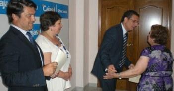 Clausura del taller en Gibraleón.
