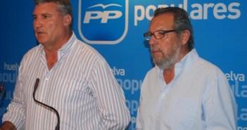 Responsables del PP y de los independientes en Cartaya.