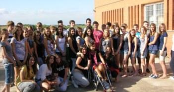Los alumnos alemanes.