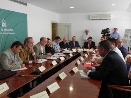 Reunión del Foro Huelva Industrial.