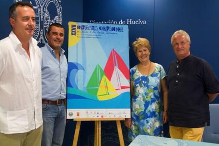 Presentación del cartel Huelva-La Gomera