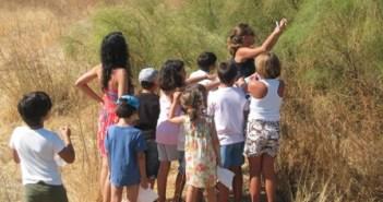 Niños participantes.