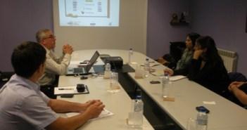 Reunión con el proyecto asturiano.