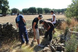 Campo de trabajo 'Paisaje con memoria' en Cala.