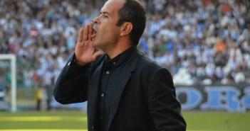 Álvaro Cervera, técnico del Recreativo.