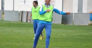 Kepa Blanco, futbolista del Recreativo de Huelva.