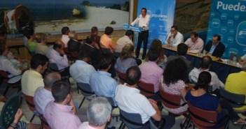 Junta directiva del PP en Almonte.