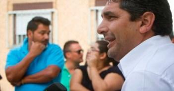 Imagen de archivo de Juan José Cortés en una de sus últimas comparecencias en Huelva. (Julián Pérez)