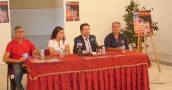 Presentación del Festival en Gibraleón.