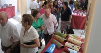 Exposición de manualidades en 2010.