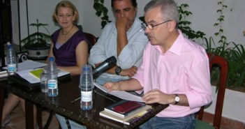 Presentación del libro en Moguer.