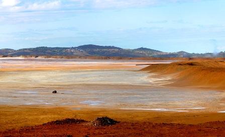 Balsa minera de Riotinto.