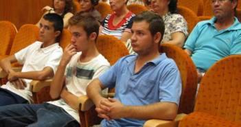 Público en el acto de presentación.