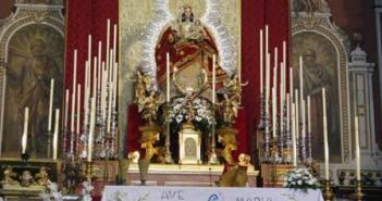 Imagen de la Virgen del Valle.