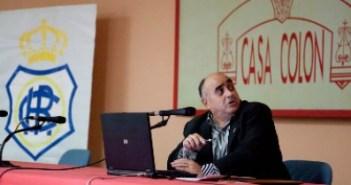 Antonio La O, historiador onubense y especialista del Recreativo de Huelva.