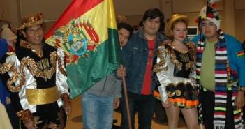 Bolivianos en Huelva.