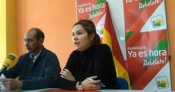 La portavoz de IU en Valverde.
