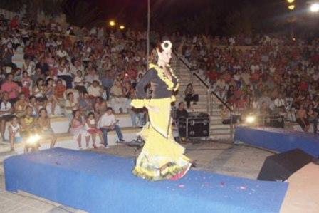 Desfile de moda flamenca en la edición de 2011.
