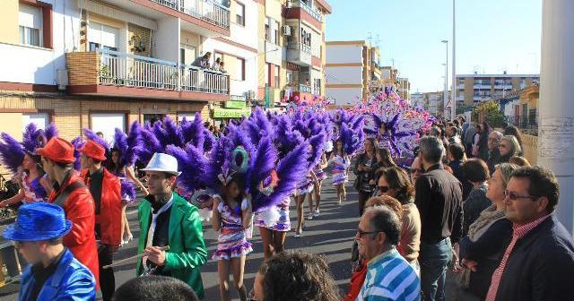 Desfile de Carnaval en Ayamonte.