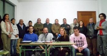 Presentación del jurado en Isla Cristina.