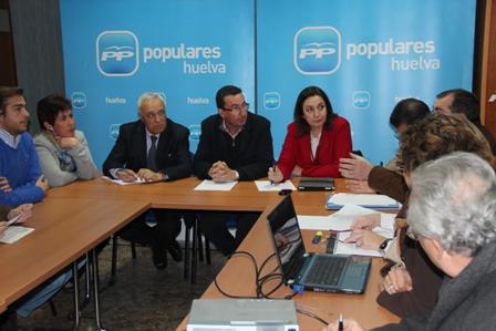 Mesa de Sanidad del PP.